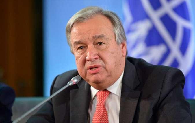 Tổng thư ký Liên hợp quốc lo ngại về sự sụp đổ của INF
