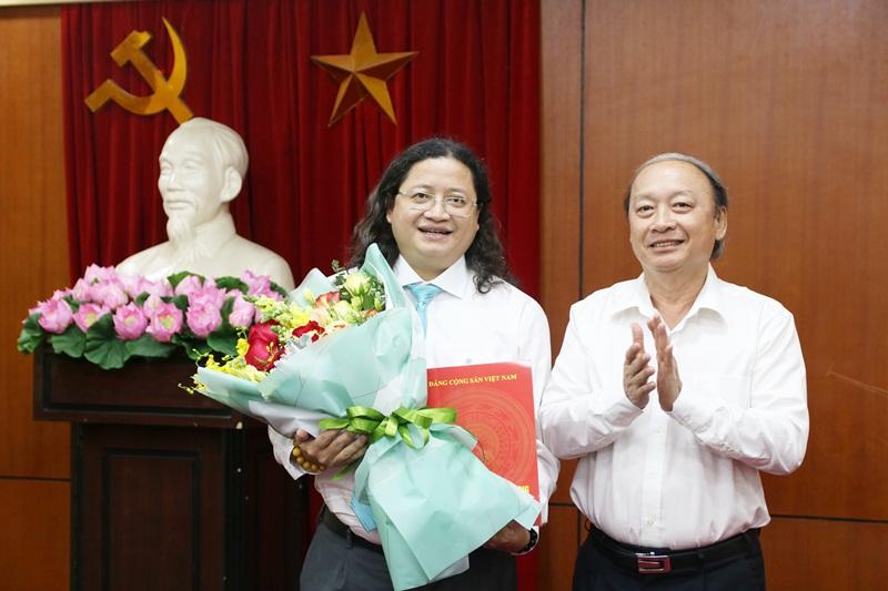 Ban Tuyên giáo Trung ương bổ nhiệm Vụ trưởng Vụ Văn hóa – văn nghệ