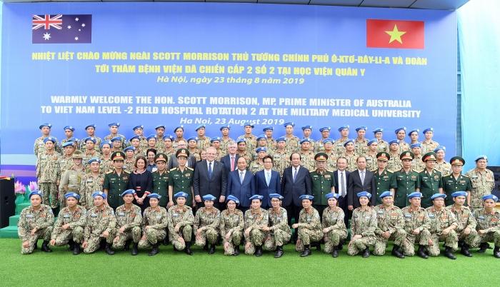 Tiếp tục khẳng định nỗ lực của Việt Nam tham gia các hoạt động gìn giữ hòa bình