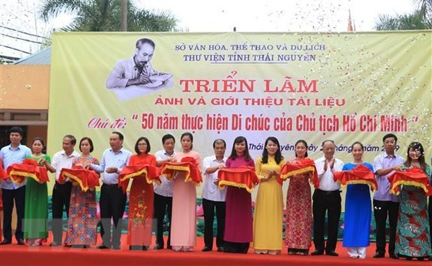 Nhiều hoạt động kỷ niệm 50 năm thực hiện Di chúc của Bác