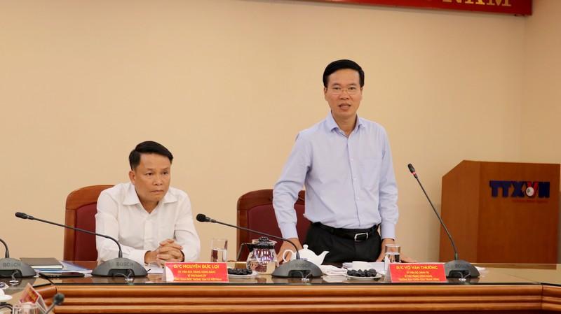 Đẩy mạnh tuyên truyền, đấu tranh phòng chống tham nhũng trên Thông tấn xã Việt Nam