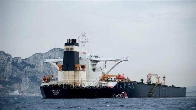 Căng thẳng vùng Vịnh Tàu chở dầu Grace 1 của Iran đã rời khỏi Gibraltar