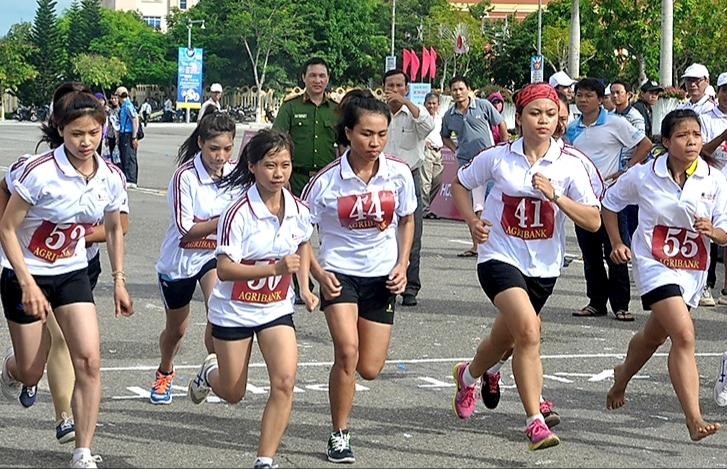 Trên 1 850 vận động viên tham gia Giải Việt dã truyền thống Báo Quảng Nam