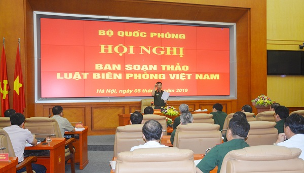 Tiếp tục hoàn thiện hồ sơ Dự thảo Luật Biên phòng Việt Nam