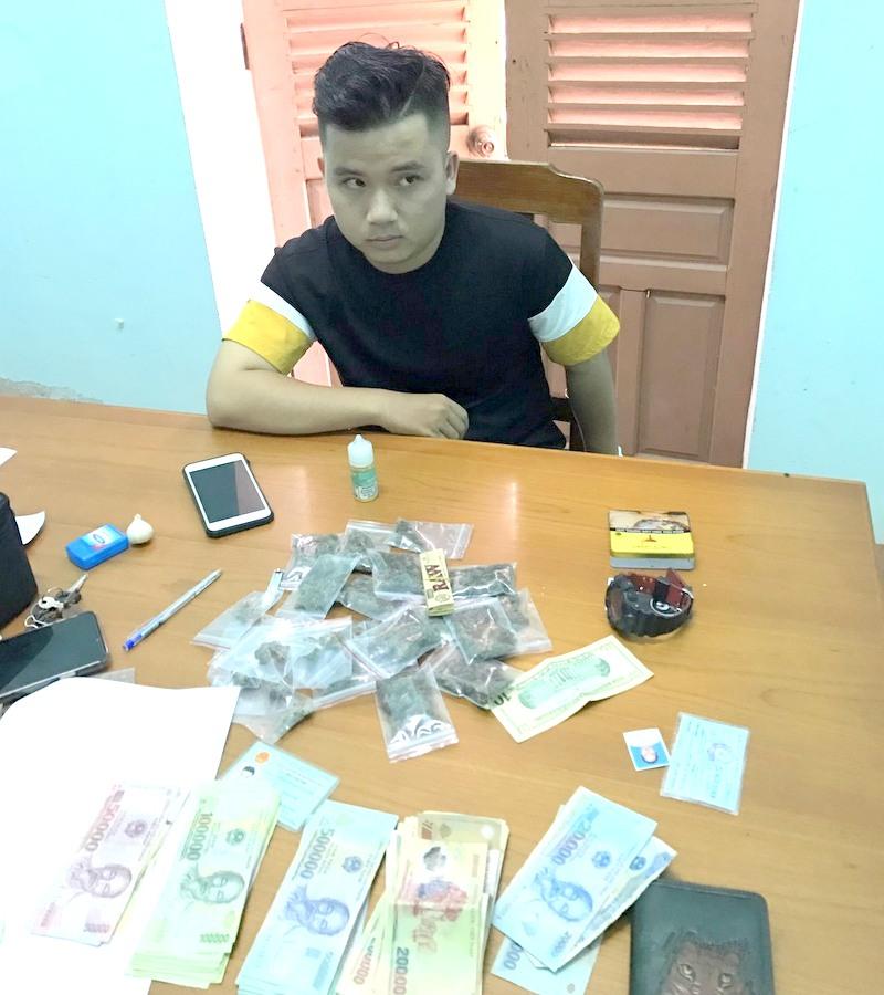 Đà Nẵng Bắt giữ 2 đối tượng mua bán gần 1,5kg cần sa