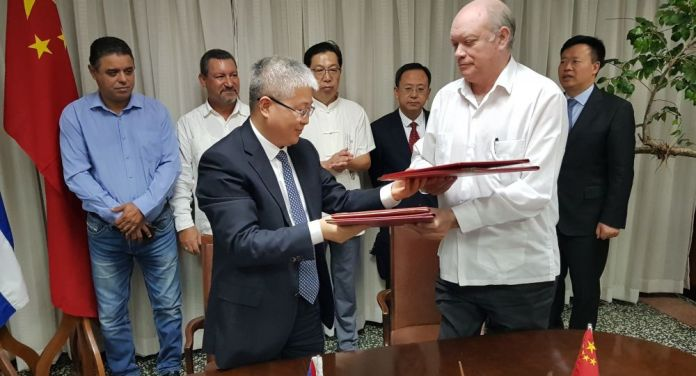 Trung Quốc viện trợ cho Cuba 112 triệu USD