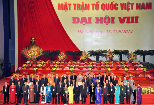 Mặt trận Tổ quốc Việt Nam qua các kỳ đại hội