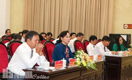 Kỳ họp thứ 10 kỳ họp bất thường HĐND tỉnh Hà Nam khoá XVIII