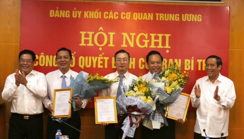 Đồng chí Bùi Trường Giang được chuẩn y Ủy viên Ban Thường vụ Đảng bộ Khối các cơ quan TƯ