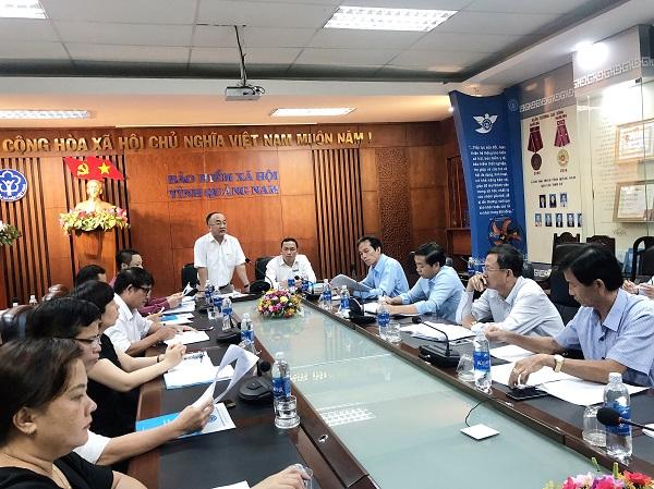 Kiểm tra tình hình thực hiện pháp luật về bảo hiểm tại tỉnh Quảng Nam và Quảng Ngãi