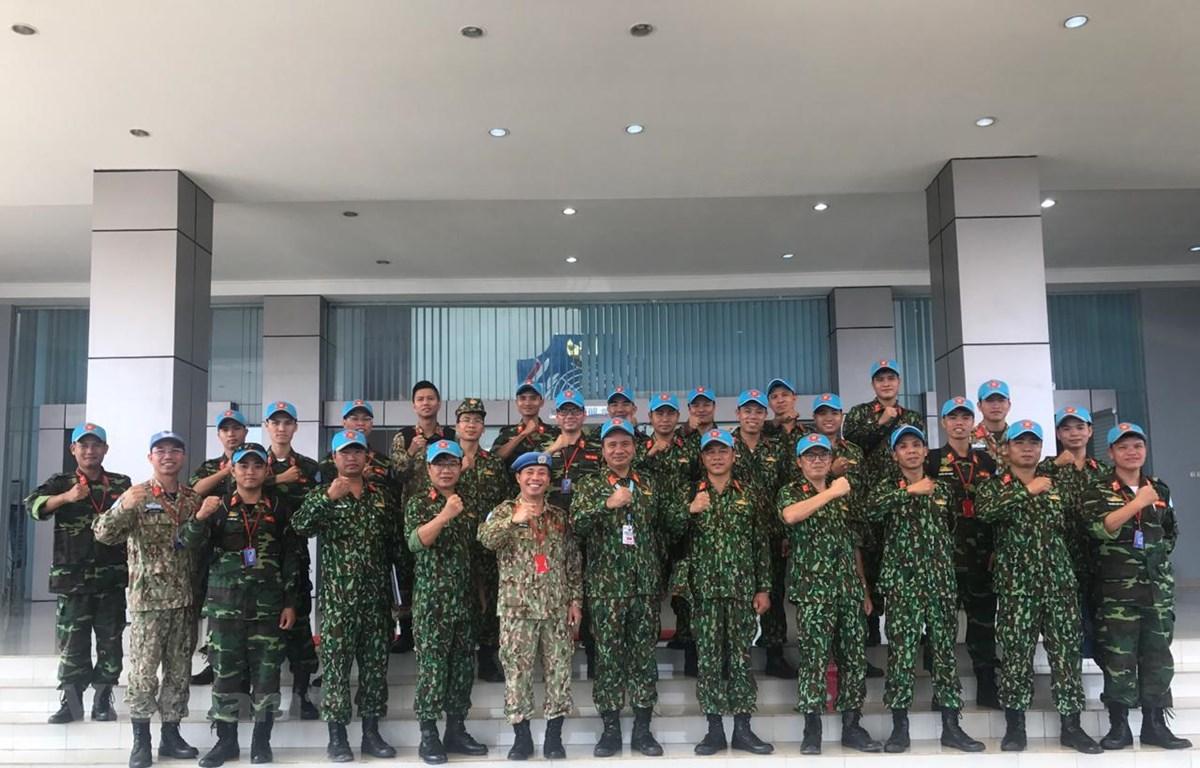 Việt Nam tham gia diễn tập Gìn giữ hòa bình và Hành động mìn nhân đạo