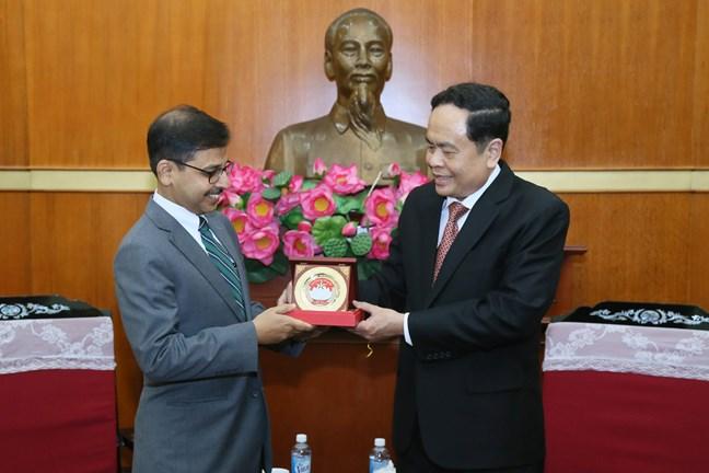 Thúc đẩy hơn nữa quan hệ hữu nghị và hợp tác Việt Nam - Ấn Độ