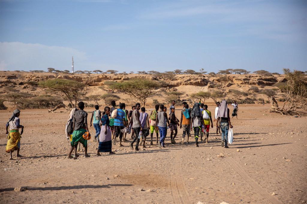 7 400 người chết trên các tuyến di cư châu Phi