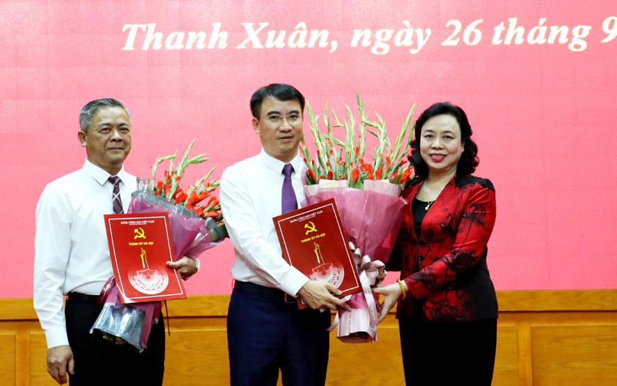 Hà Nội Quận ủy Thanh Xuân có Bí thư mới