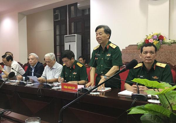 Báo Quân đội nhân dân gặp mặt cộng tác viên tuyên truyền về công tác xây dựng Đảng