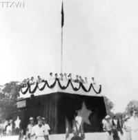 Chủ tịch Hồ Chí Minh đọc Tuyên ngôn Độc lập, khai sinh nước Việt Nam Dân chủ Cộng hoà