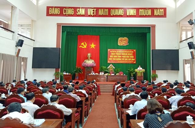 """Hội thảo khoa học """"Đức giáo tông Phan Văn Tòng - một tấm gương tốt đời, đẹp đạo"""""""