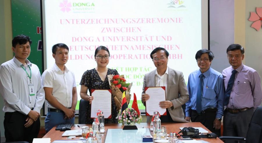 Đại học Đông Á và Hiệp hội Caritas Mannheim tiếp nhận sinh viên làm việc tại Đức