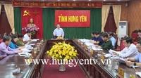 Họp tiểu ban văn kiện Đại hội Đảng bộ tỉnh Hưng Yên lần thứ XIX