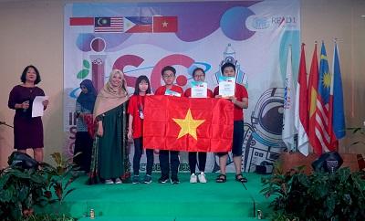 Việt Nam đạt kết quả ấn tượng tại Kỳ thi Khoa học Quốc tế ISC năm 2019