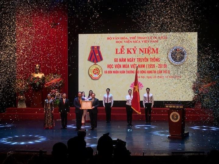 Học viện Múa Việt Nam Cái nôi của ngành nghệ thuật múa nước nhà