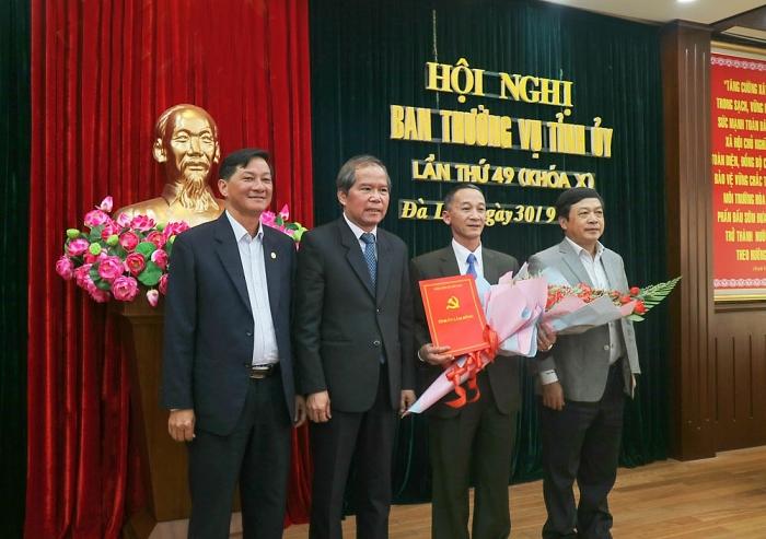 Ban Bí thư chuẩn y chức vụ Phó Bí thư Tỉnh ủy Lâm Đồng