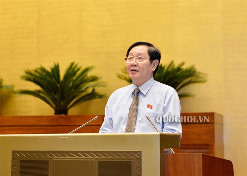 Quốc hội thảo luận về thí điểm không tổ chức HĐND tại các phường thuộc quận, thị xã của Tp Hà Nội