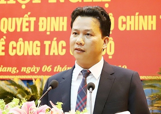 Ông Đặng Quốc Khánh giữ chức vụ Trưởng Đoàn đại biểu Quốc hội khóa XIV tỉnh Hà Giang