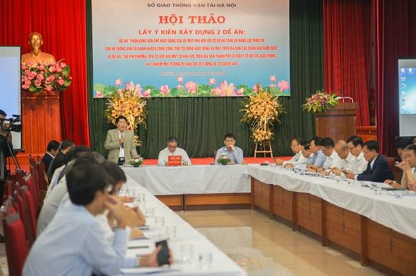 Đảm bảo tính khả thi khi cấm đi xe máy một số khu vực ở Hà Nội