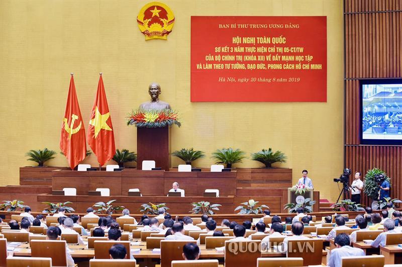 Xây dựng Đảng trong sạch, vững mạnh theo tư tưởng, đạo đức, phong cách Hồ Chí Minh