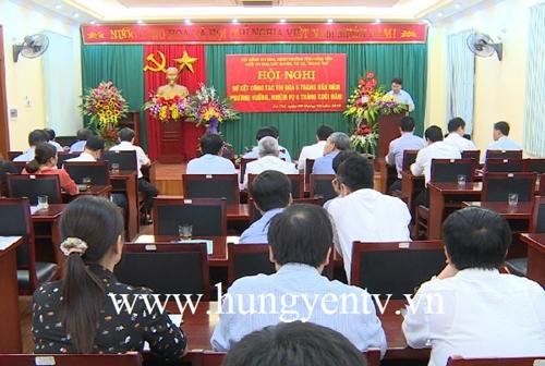 Hưng Yên Khối thi đua các huyện, thị xã, thành phố đẩy mạnh phong trào thi đua yêu nước