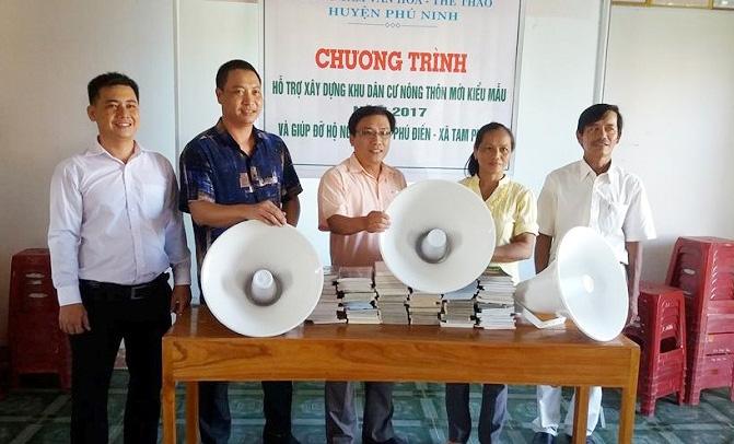 Phú Ninh Quảng Nam  Xây dựng hình ảnh người cán bộ gần dân, sát dân