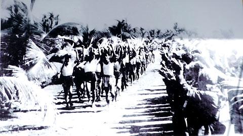 Nhân dân Nam Trung Bộ chuẩn bị kháng chiến