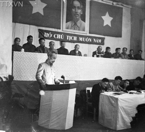 Quốc hội khoá I kỳ họp thứ ba thông qua Luật cải cách ruộng đất