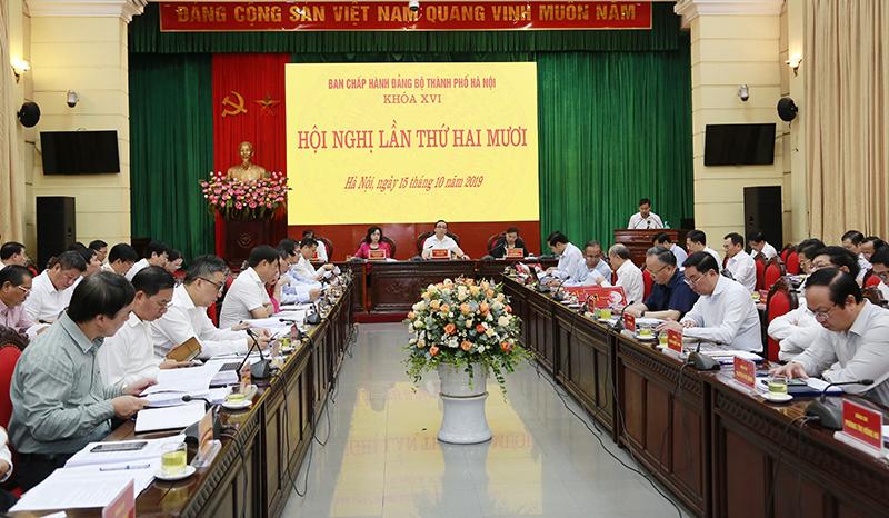 Hà Nội thi hành kỷ luật 19 tổ chức đảng và 568 đảng viên