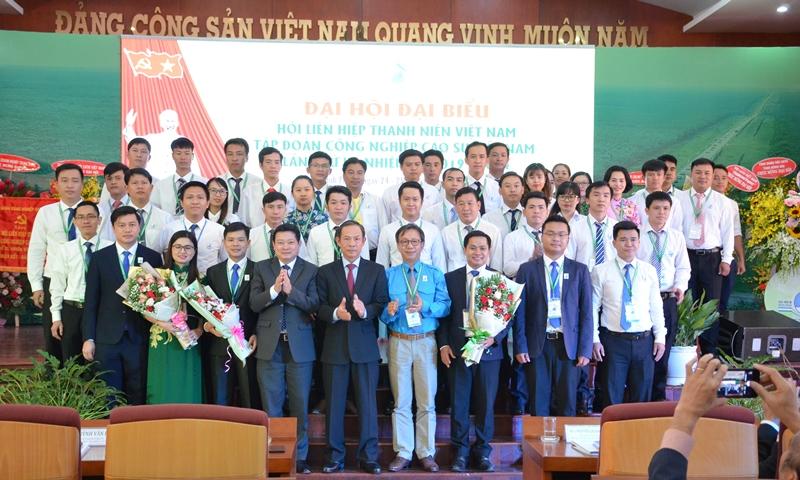 Anh Thái Bảo Tri tái đắc cử Chủ tịch Hội LHTN Tập đoàn Cao su Việt Nam