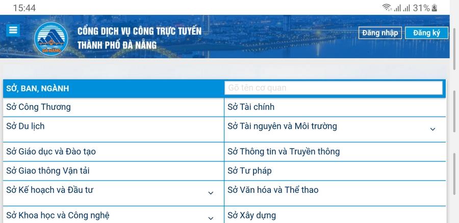 Đà Nẵng sử dụng Cổng dịch vụ công trực tuyến