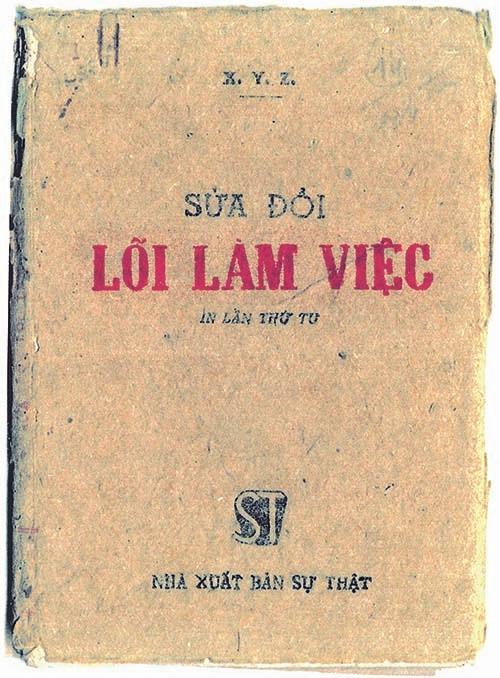 Chủ tịch Hồ Chí Minh viết tác phẩm Sửa đổi lối làm việc