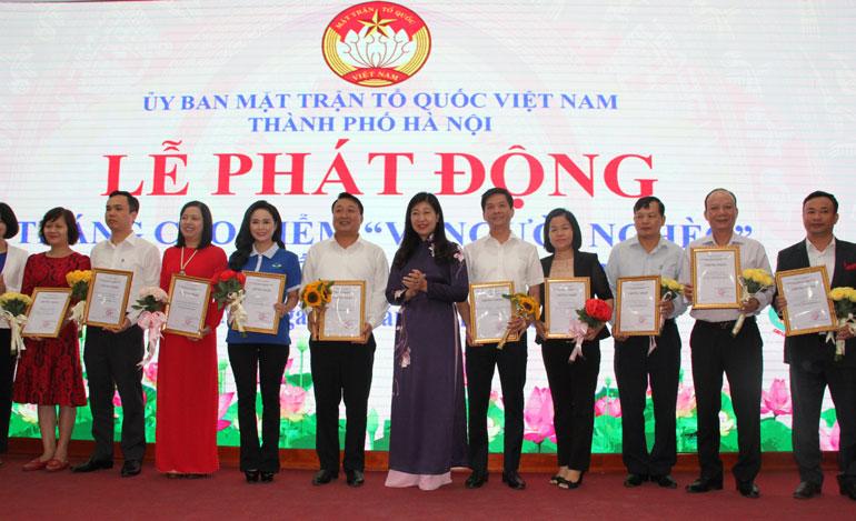 """Hà Nội Hơn 7,2 tỷ đồng ủng hộ Quỹ """"Vì người nghèo"""" năm 2019"""