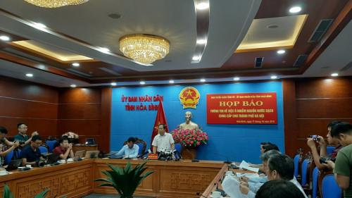 Khởi tố vụ án gây ô nhiễm nguồn nước sạch cung cấp cho thành phố Hà Nội