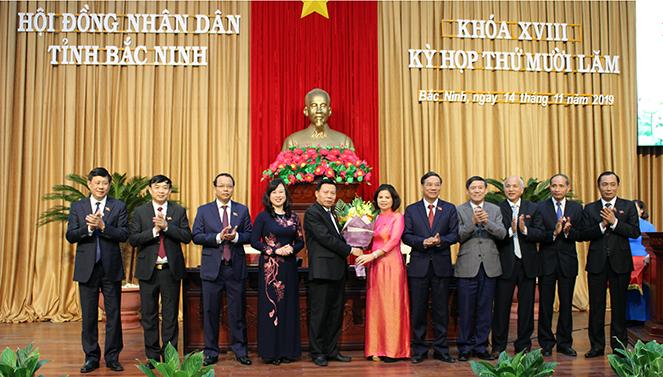Bầu Chủ tịch HĐND và UBND tỉnh Bắc Ninh