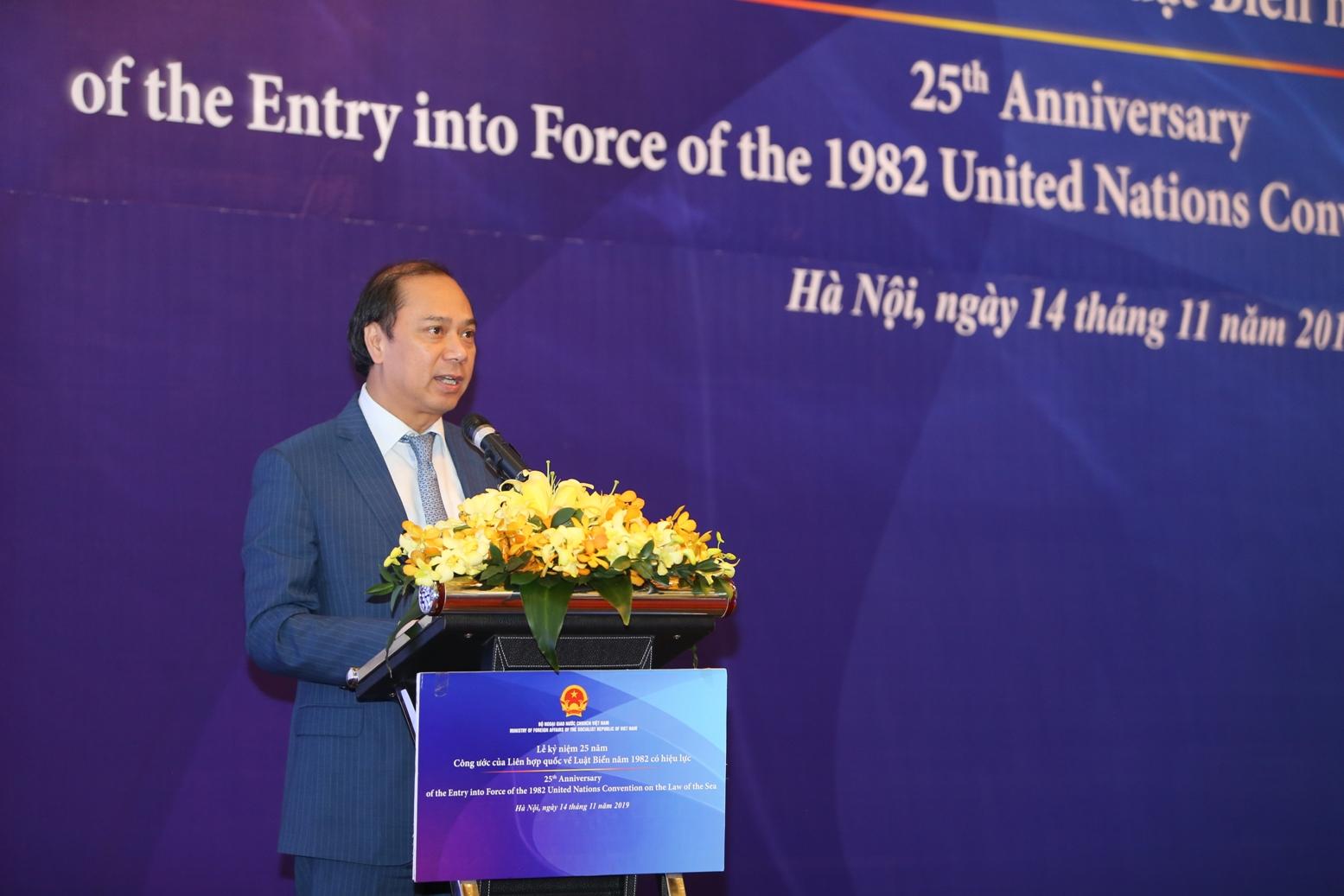 Việt Nam đề cao tôn chỉ và mục tiêu của Công ước của Liên hợp quốc về Luật Biển 1982
