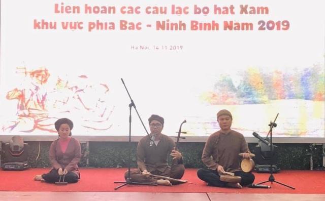 15 câu lạc bộ tham gia Liên hoan hát xẩm các tỉnh phía Bắc