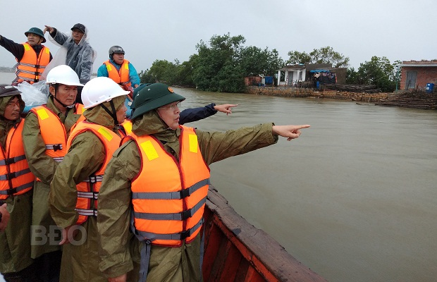 Cần kiểm tra, rà soát các khu vực có nguy cơ xảy ra lũ quét sau bão số 6