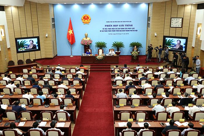 HĐND TP Hà Nội tổ chức phiên họp giải trình về an toàn thực phẩm