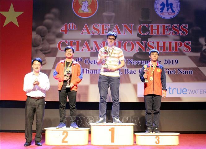 Việt Nam giành 14 Huy chương Giải vô địch cờ vua Đông Nam Á