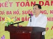 Chủ tịch MTTQ Việt Nam dự Ngày hội Đại đoàn kết toàn dân tộc tại Ninh Thuận 