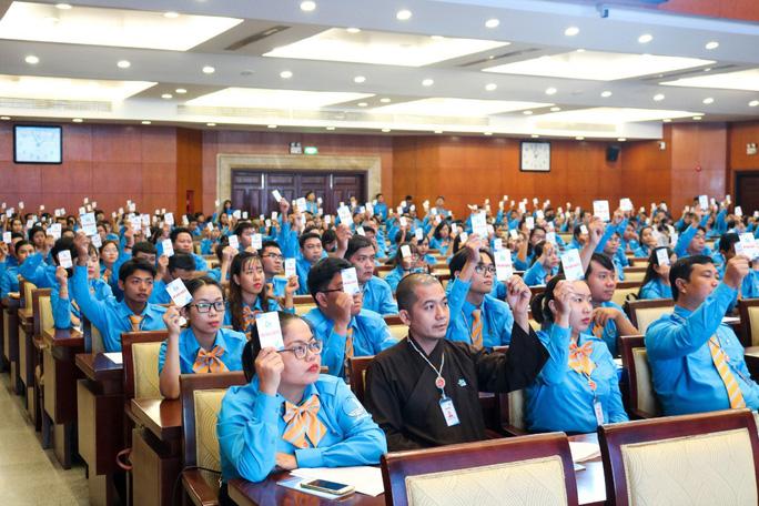 Anh Ngô Minh Hải tái đắc cử Chủ tịch Hội LHTN Việt Nam TP Hồ Chí Minh
