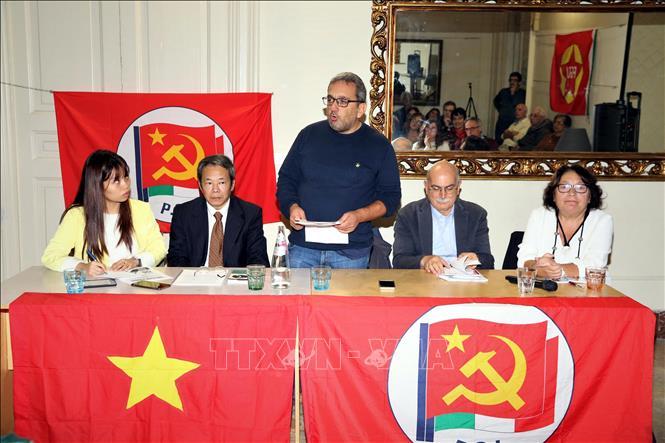 Đảng Cộng sản Italy kỷ niệm 50 năm thực hiện Di chúc của Bác