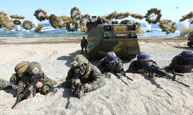 Triều Tiên chỉ trích kế hoạch tập trận chung giữa Mỹ và Hàn Quốc